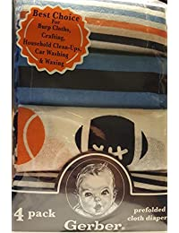 Gerber Prefolded Cloth Diapers 4 Pack BOBEBE Online Baby Store From New York to Miami and Los Angeles