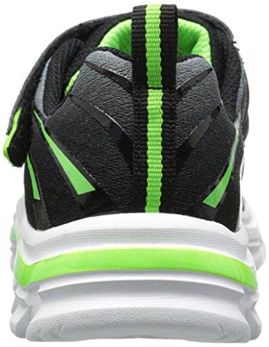 Skechers Nitrate-Pulsar, Zapatillas de Deporte para Niños BKLM