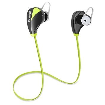 Auriculares Bluetooth CHXYGOING V4.1 + EDR Auriculares Deportivos inalámbricos In Ear, Largo Standbye