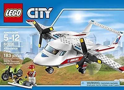 LEGO CITY Ambulance Plane 60116 by LEGO