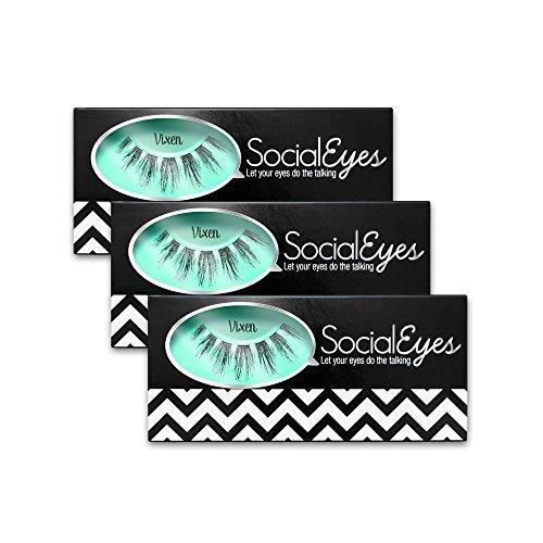 SocialEyes Vixen Fake Eyelashes