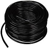 Hydro Flow 100 ft Vinyl Tubing, Black - 3/16 ID x 1/4 OD