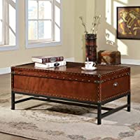 247SHOPATHOME Idf-4110C Coffee-Tables, Cherry