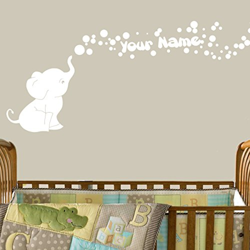 Decal Walls Elephant Bubbles Personalized product image