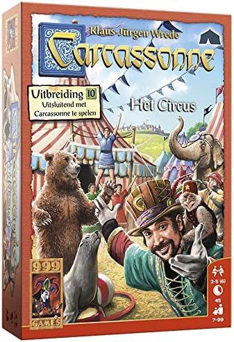 999Games Carcassonne: Het Circus - Bordspel - 7+: Amazon.es: Juguetes y juegos