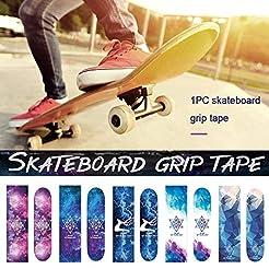 Younar Glaxy Trip Skateboard Grip Tape W...