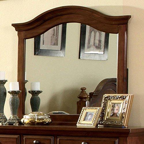 Benzara BM123485 Transitional Style Wooden, Brown Palm Coast Light Walnut Finish - Walnut Light Palm Coast