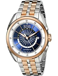 Bulova Mens 65B163 Analog Display Automatic Self Wind Two-Tone Watch