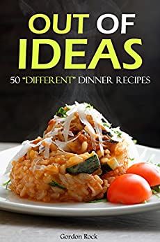 Out Ideas Different Recipes Cookbook ebook