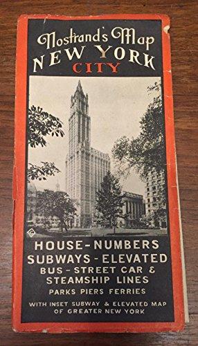 Nostrand's Map New York City