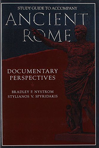 Study Guide to Accompany Ancient Rome