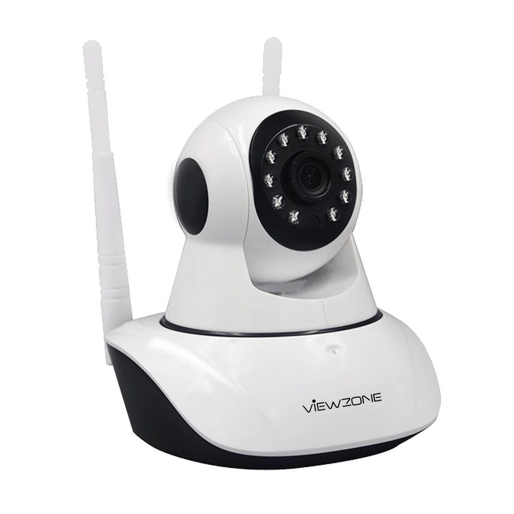 Viewzone 1080P HD WiFi IP Camera with Night Vision Two Way Audio, Wireless Home Security Camera Supports Pan/Tilt/Zoom Motion Detection, 2.4GHz WiFi Band IP Camera for Baby/Elder/Pet Monitor