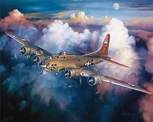 Amazon.com: White Mountain Puzzles B-17 Bomber - 1000 ...