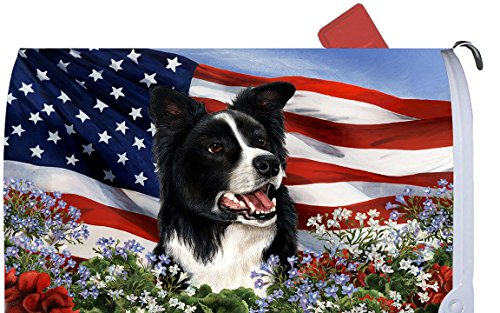 Border Collie Mailbox Cover