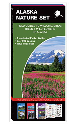 Alaska Nature Set: Field Guides to Wildlife, Birds, Trees & Wildflowers of Alaska