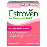 Estroven Weight Management - Multi-Symptom Menopause Relief* – With Ingredients to Help Reduce Hot Flashes and Night Sweats* - 30 Capsules