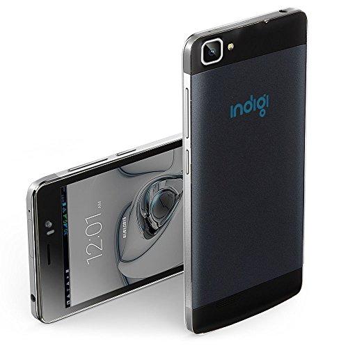 Indigi 5.5in 3G Black Dual-Sim Dual-Core Android 4.4 Kitkat