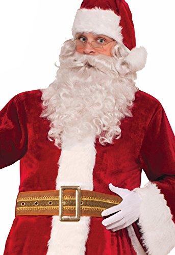Instantly Recognizable Costumes (Forum Novelties Men's Deluxe Santa Belt, Brown, One Size)