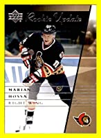2002-03 Upper Deck Rookie Update #70 Marian Hossa OTTAWA SENATORS