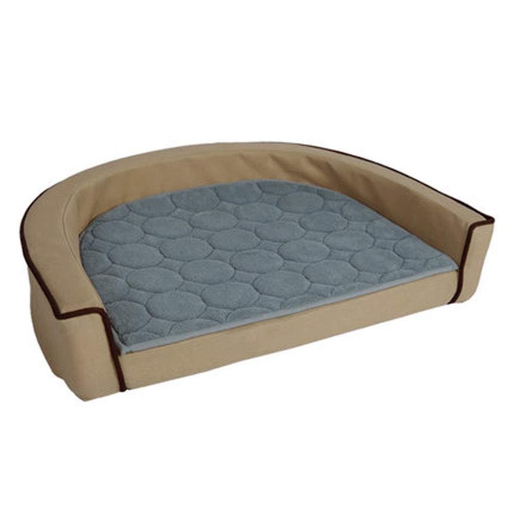 Beige Kennel Removable Washable Dog Bed golden Retriever Pet Nest Small Medium Dog Sofa Mattress Cat Litter Dog Supplies