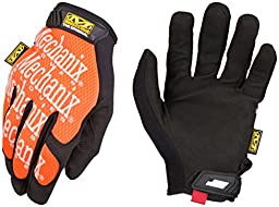 Mechanix Wear MG-09-011 Original Glove, Orange, X-Large