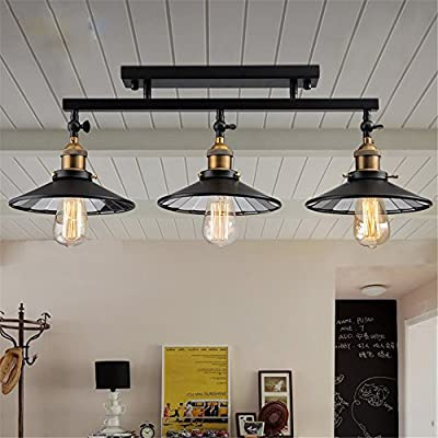Zhy-American Countryside Antique Celing Lamp Vintage Ceiling Light Loft Industrial Home Lighting With Edison Bulbs For Dinning Room ,Yc844