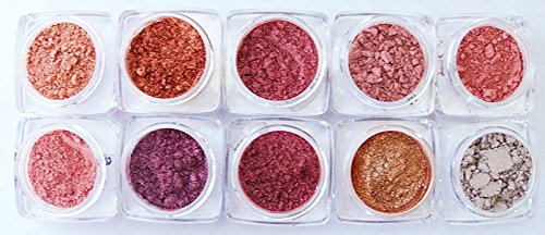 Grace My Face Minerals- New Eyeshadow Collection- Amber - My Shades New