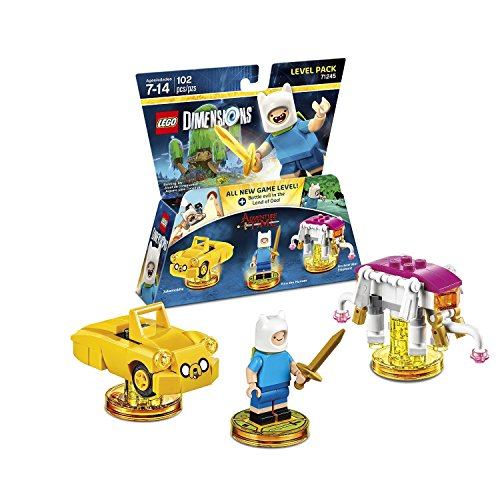 Lego Dimensions Starter Pack + Adventure Time Finn The Human Level Pack + Jake The Dog Team Pack + Marceline The Vampire Queen Fun Pack for Xbox One or Xbox One S Console by WB Lego (Image #2)