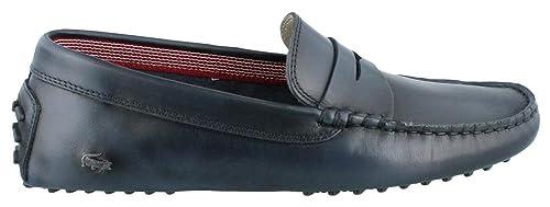 Lacoste Concours 14 Slip on Loafer - Bañador para Hombre, Azul (Azul Oscuro)