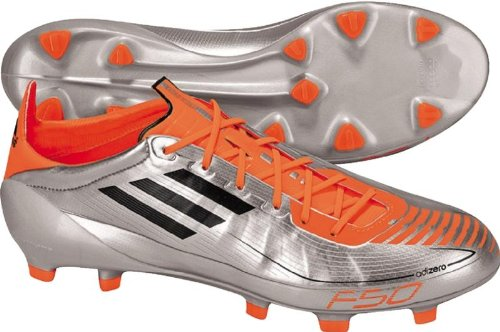 Adidas Adizero Trx Fg (syn) Mens Fotballsko Krom / Svart / Advarsel