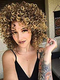 AISI HAIR Synthetic Afro Curly Hair Wigs Heat Resistant Wigs kinky curly Wigs for Black Womens