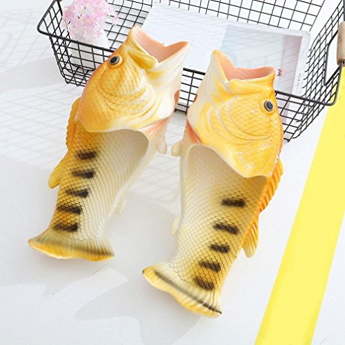 Slippers Englon Fish Flops Unisex Antiskid Flip Gladiator Yellow Creative Rubber Wear Byste Beach Men Anti Outdoor Shoes Funny Sandals Home amp; Massage Indoor Slip Shower gxnFwwR