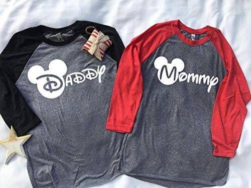 Handmade Christmas Family Disney world shirts Custom names 2018, Disney Family Shirts, Matching Family Disney Shirts, Personalized Disney Shirts for Family]()