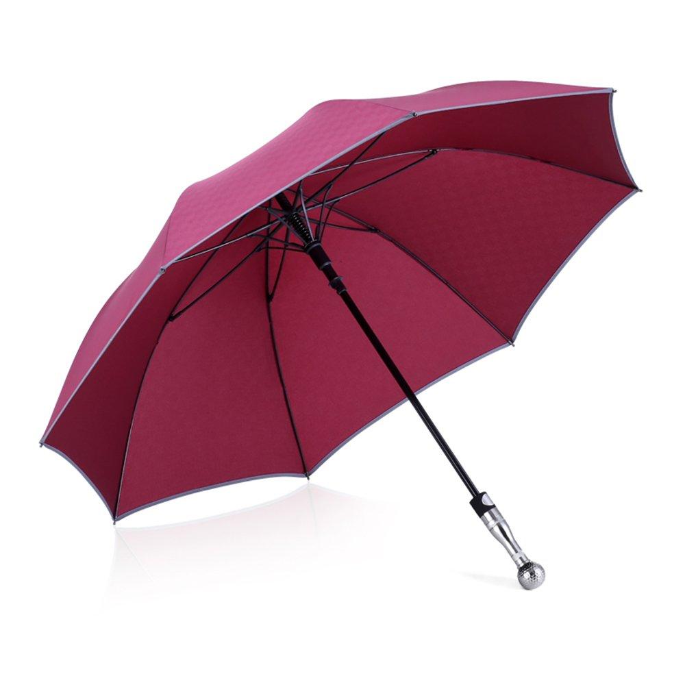 Parapluie de sécurité Super Tactique/autodéfense / Compact Automatique Ouvert Long Umbrella Unbreakable Super Umbrella (Bleu)