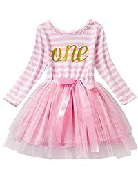 NNJXD Girl Shinny Stripe Baby Girl Sleeveless Printed...