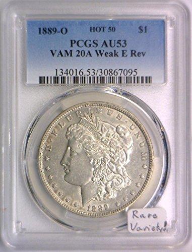 1889 O Morgan Dollar AU-53 PCGS