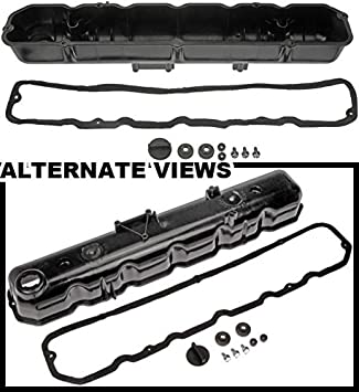 APDTY 375085 Valve Cover Kit With Gasket For AMC/Jeep 4 2L