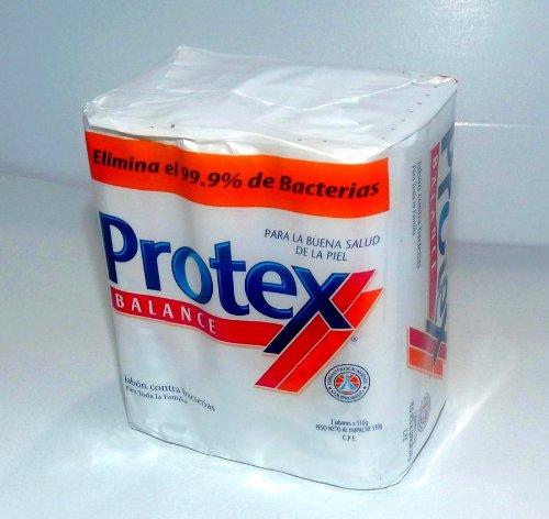 - Protex Balance Formula Soap 99.9% Antibacterial 3 Pack 125 Grams