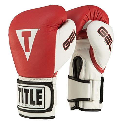 TITLE Gel World Bag Gloves, Red, Large