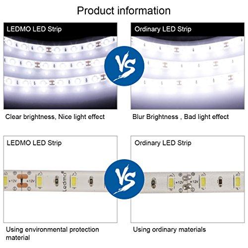 LEDMO 5630 Flexible Led Strip, Daylight 300pcs SMD ...