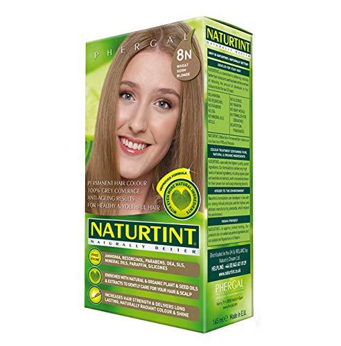 (Naturtint, Hair Color Permanent Wheat Germ Blonde 8N, 5.6 Fl Oz)