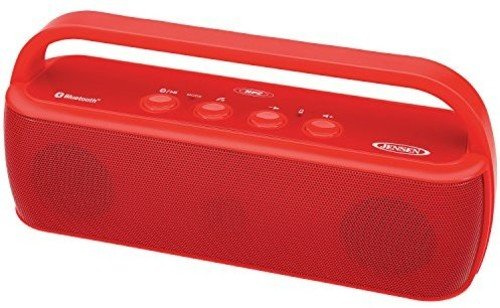Jensen SMPS-627-R Portable Bluetooth Wireless Stereo Rechargeable (Jensen Wireless Stereo Speakers)