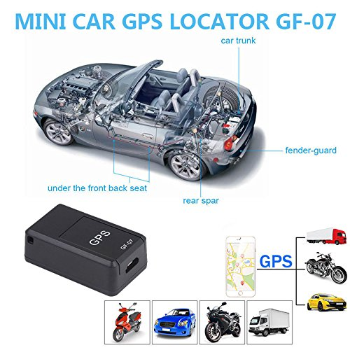 Amazon.com: Auntwhale Car Locator GSM/GPRS Magnetic Mini Car Tracker GSM Tracking Device GPS Locator GF-07: Sports & Outdoors