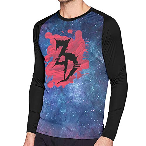 Hip Hop Dead T-shirt - Man's Zeds Dead Music Band Aid Long Sleeves Raglan Contrast Color Tee Shirt L Gift