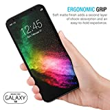 Maxboost Galaxy S8 Case mSnap [Perfect Fit] [Black] Samsung Galaxy S8 Case Anti-Slip Matte Coating for Excellent Grip Thin Hard Protective PC Snap Case Covers for Samsung Galaxy s8 2017 - MB000097