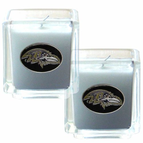 Nfl Candle - NFL Baltimore Ravens Candle Set