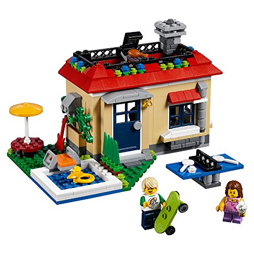 (LEGO Creator Modular Poolside Holiday 31067 Building Kit (356)