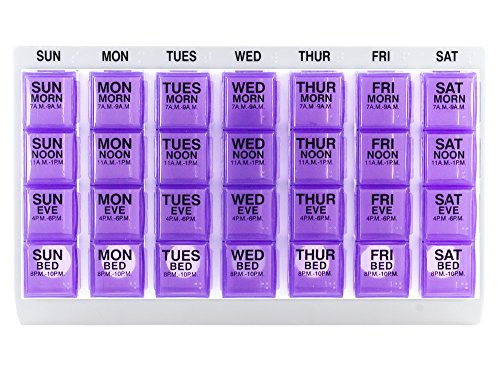 GMS Four Weekly Medication Organizer product image