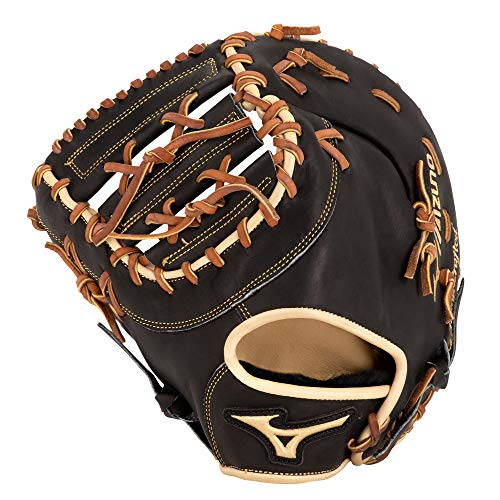 Mizuno GPS1BK-300FBM Pro Select Baseball First Base Mitts, 12.5