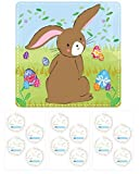 Stick the Tail on the Bunny Kids Easter Activity Game